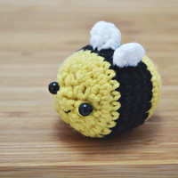 kawaii bee crochet amigurumi plush