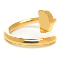Cartier Woman Fashion Plated Adjustable Ring For Best Gift