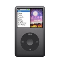 Apple 7th Generation 160GB iPod Classic Black in Plain White Box, 90 Day Warranty! - Walmart.com