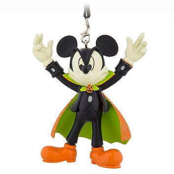 Disney Parks Halloween Mickey Vampire Figural Ornament New with Tags