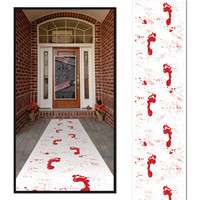 Bloody Footprints Runner – Spirit Halloween