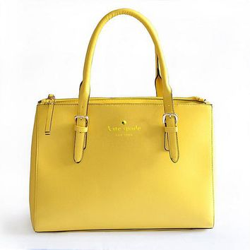 KATE SPADE Women Leather Luggage Travel Bag Tote Handbag B-YJBD-2H