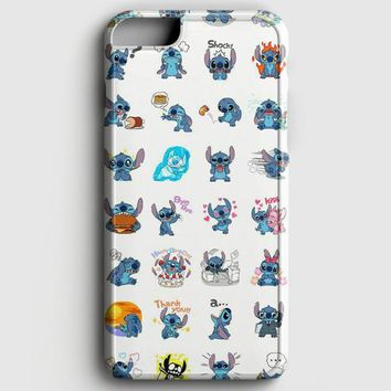 Lilo And Stitch Pattern iPhone 6 Plus/6S Plus Case | casescraft