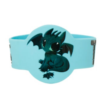 How To Train Your Dragon 2 Toothless Die-Cut Rubber Bracelet