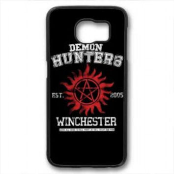 supernatural demon hunters for samsung galaxy s6 case