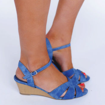 Light Blue Wedge