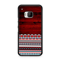 Wooden Aztec Pattern HTC One | M9 case