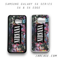 nirvana floral vintage Phone case for samsung galaxy S6 & S6 EDGE