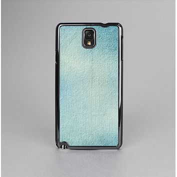 The WaterColor Blue Texture Panel Skin-Sert Case for the Samsung Galaxy Note 3