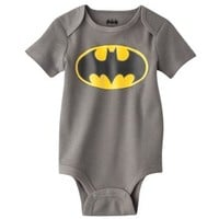Newborn Boys' Batman Bodysuit - Grey