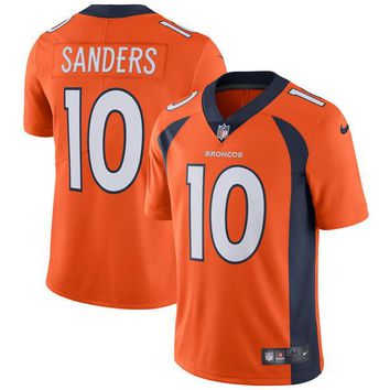 Men's Denver Broncos Emmanuel Sanders Nike Orange Vapor Untouchable Limited Player Jersey