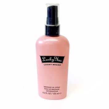Lucky You for Women by Liz Claiborne Massage Oil Spray 4.2 oz
