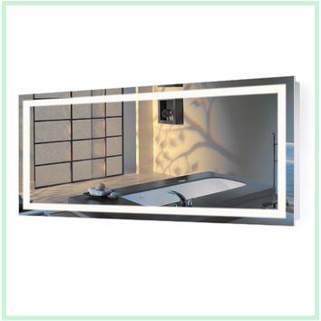 Large 60 Inch X 30 Inch LED Bathroom Mirror Lighted Vanity Mirror Includes Dimmer & Defogger