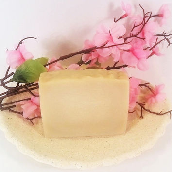 Coconut milk soap, handmade soap, cold  process soap, handcrafted soap