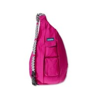 KAVU Women's Rope Bag, Magenta, One Size