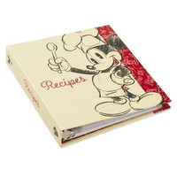 Mickey Mouse Recipe Book