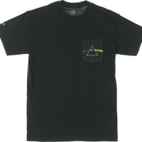 Habitat/Pink Floyd Dark Side Pocket Tee Large Black