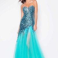 Blush 9602 at Prom Dress Shop