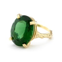 Chupi.com - Chupi Beauty In The Wild Ring Emerald Quartz