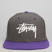 Stussy Two-Tone Wool Snapback Hat - Urban Outfitters