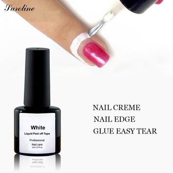Manicure Protected Easily Flakes Around The Nails 8ML Easy Clean Fast Dry Finger Skin Liquid Peel-off Tape Gel Nail Polish