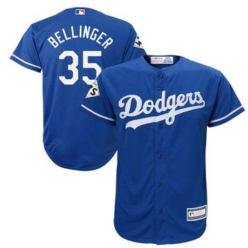 Youth Los Angeles Dodgers Cody Bellinger Royal 2017 World Series Bound Player Jersey