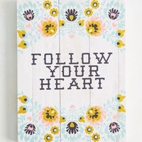 This Is the Van Life Wall Decor in Heart | Mod Retro Vintage Decor Accessories | ModCloth.com