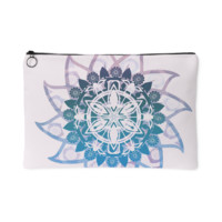Purple Haze Mandala Makeup Bag