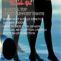 Control Top Heavy Support Tights (6pcs)