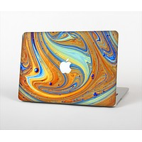 "The Colorful Wet Paint Mixture Skin Set for the Apple MacBook Pro 15"" with Retina Display"