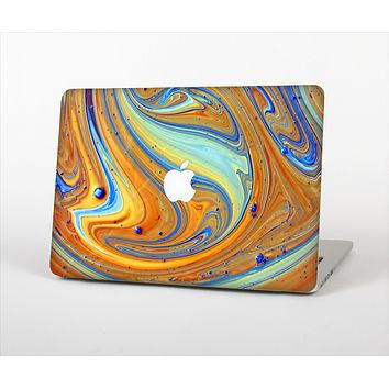 "The Colorful Wet Paint Mixture Skin Set for the Apple MacBook Pro 13"" with Retina Display"