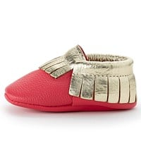 BIRDROCK BABY RUDOLPH BABY MOCCASINS