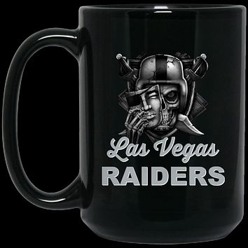 Las Vegas Raiders v2 BM15OZ 15 oz. Black Mug