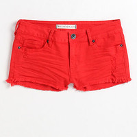 Bullhead Black Fray Solid Shorts - PacSun.com