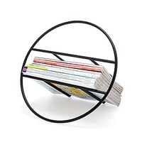 Hoop Magazine Rack | Modern Home Decor; Living Room Decor