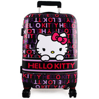 Hello Kitty Polycarbonate Hardshell Rolling Luggage Case [28 Inches]