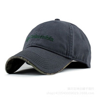 Gray Columbia Unisex Adjustable Performance Classic Outdoor Flex Fitted Hat Cap