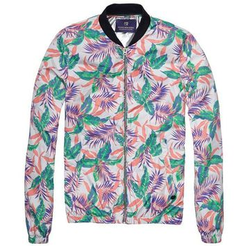 Vintage Floral Jacket by Scotch and Soda