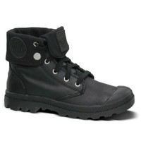 Palladium Baggy Leather Boots in Black Shoes Guys Boots
