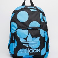 adidas Originals x Pharrell Williams Backpack in Blue Spot