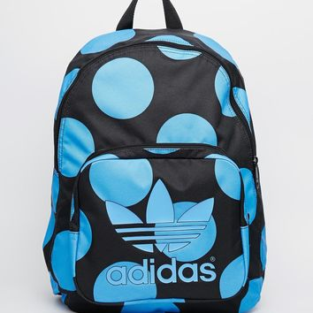 4899a197cfe0 adidas Originals x Pharrell Williams Backpack in Blue Spot