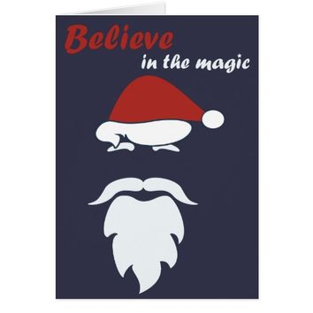 Greetings / Christmas Card - Believe in the Magic