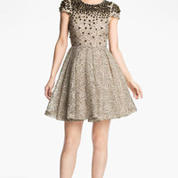 Alice + Olivia 'Aubree' Embellished Dress | Nordstrom