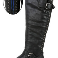 Back in Black Riding Boot