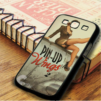 World War 2 Bomber Pin Up Samsung Galaxy S3 Case