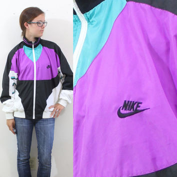 Vintage Retro Nike International Windbreaker Jacket