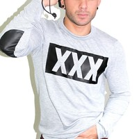 XXX Sweater- Grey