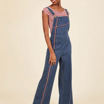 Making It Rainbow Overalls | Mod Retro Vintage Pants | ModCloth.com