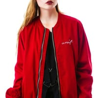 UNIF No Luck Bomber Ox Blood