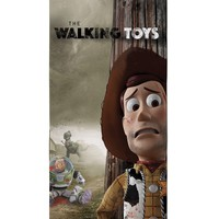 The Walking Toys Beach Towel